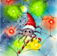 Spider Celebrates