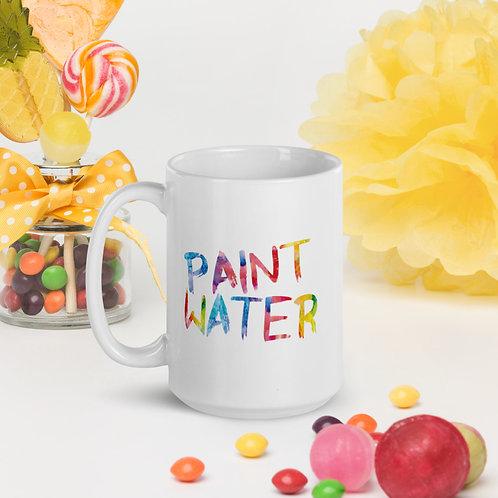 """Paint Water"" Rainbow 11oz & 15oz Mug"