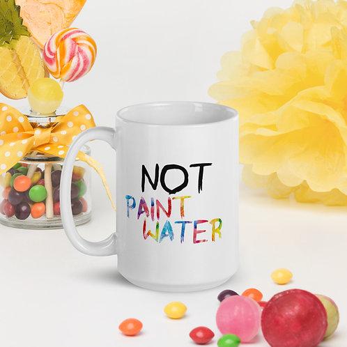 """NOT Paint Water"" Rainbow Mug 11oz & 15oz"