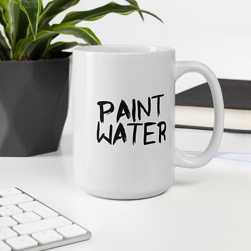 """Paint Water"" Black & White 11oz & 15oz Mugs"