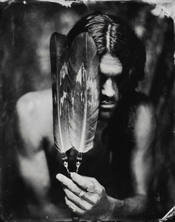 A Prayer on Two Feathers
