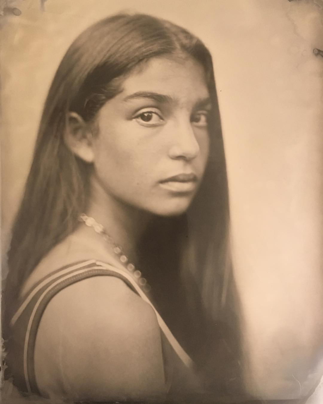 8x10 Portrait Tintype Session