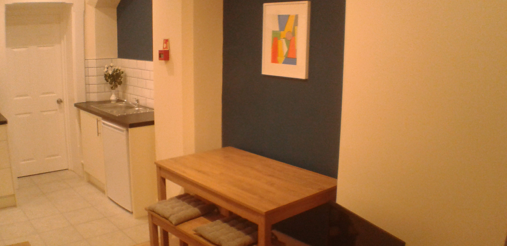 Open plan Living Dining Kitchen area Apartment 2 (c)