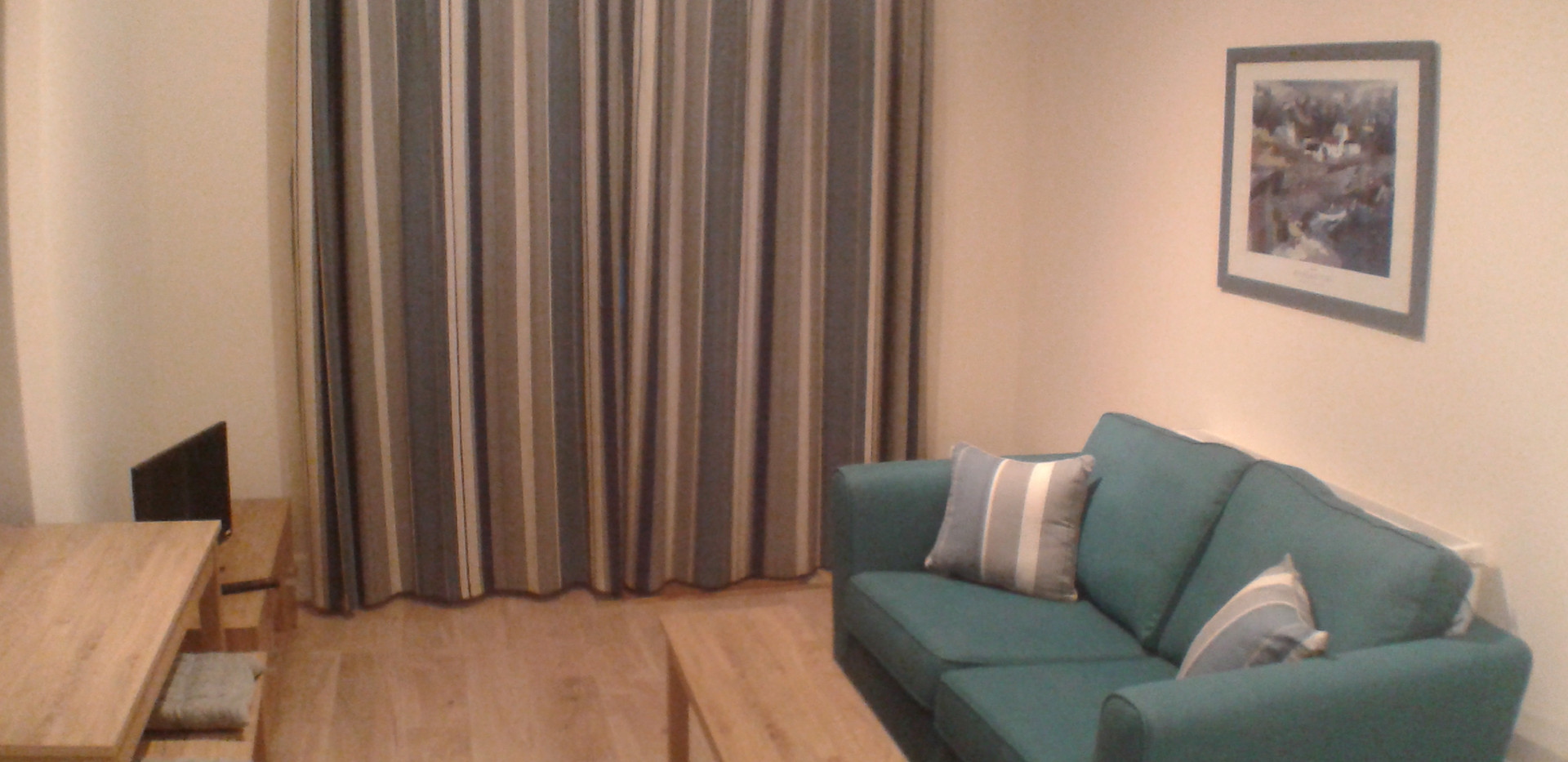 Open plan Living, Dining, Kitchen area Apartment 2 (f)