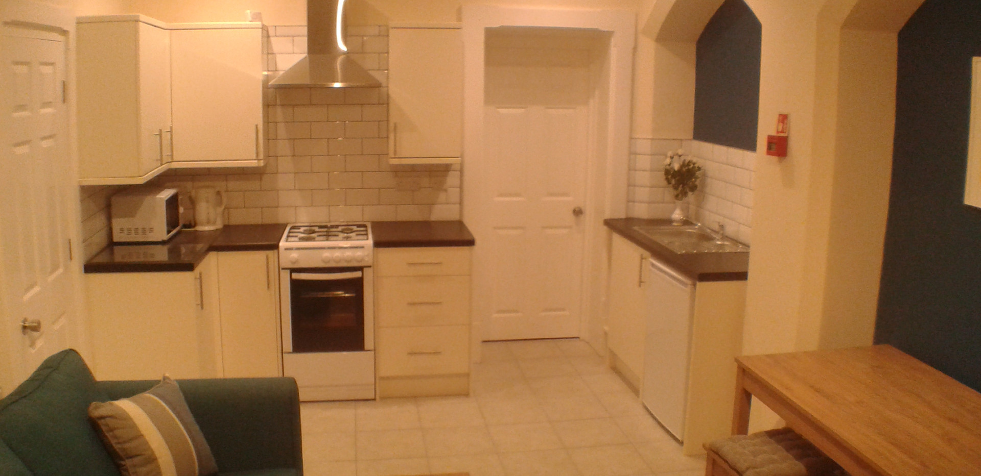 Open plan Living, Dining, Kitchen  Area, Apartment 2 (a)