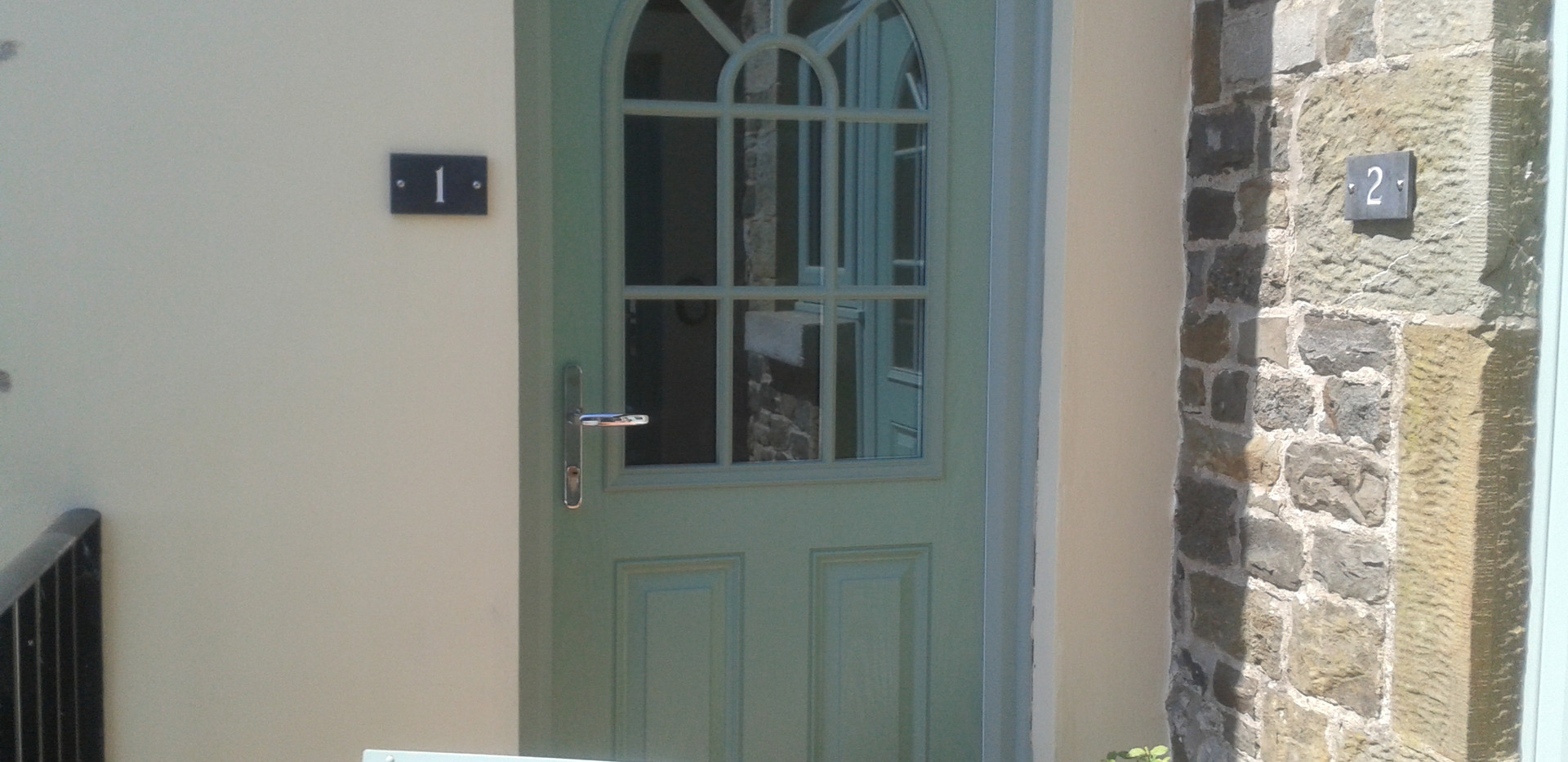 Entrance to Apartment 1