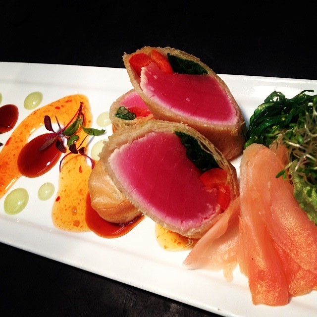 Tuna Spring Roll