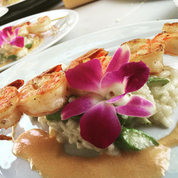 Grilled Shrimp and Asparagus Risotto