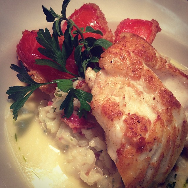 Pan Roasted Grouper