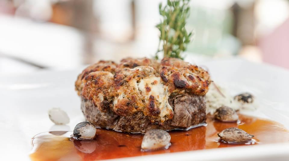 Gorgonzola Crusted Filet