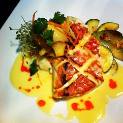 Pan Roasted Queen Snapper