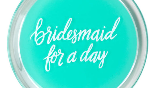 Bridesmaid For A Day/Besties For Life Compact Mirror