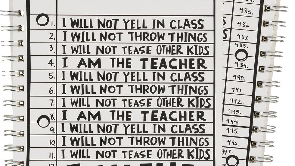 Spiral Notebook - I Am The Teacher