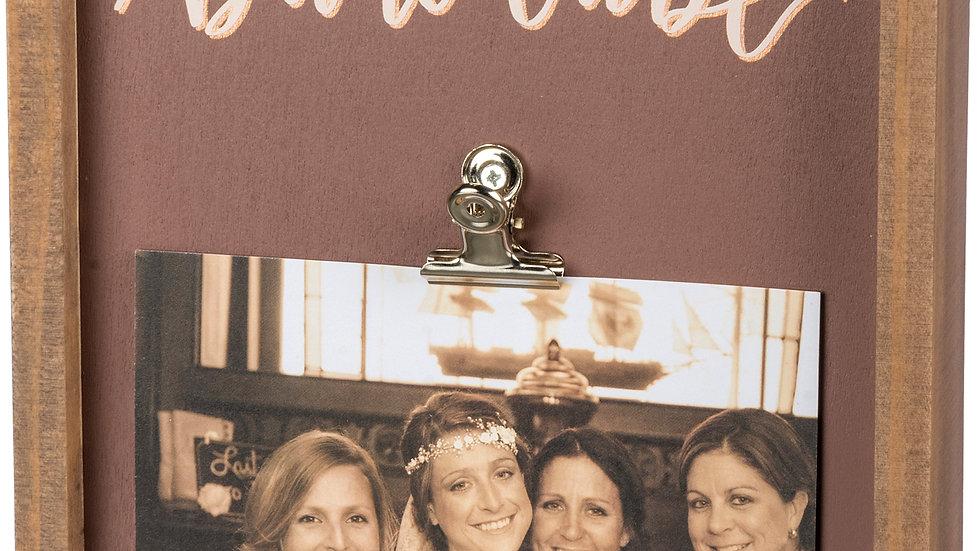 Inset Box Frame - Bride Tribe