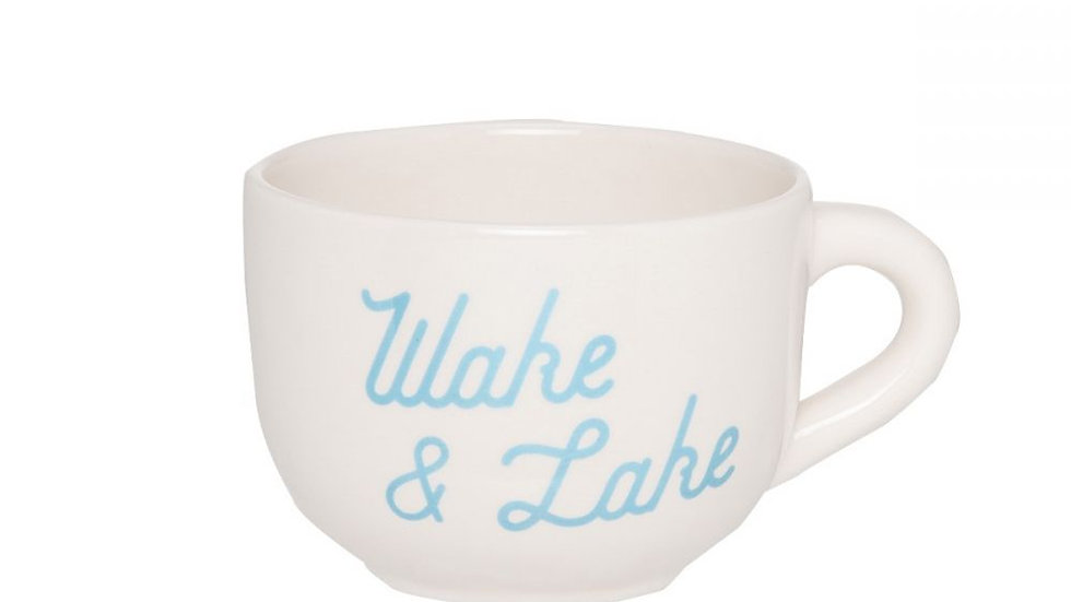 Mug, Wake and Lake