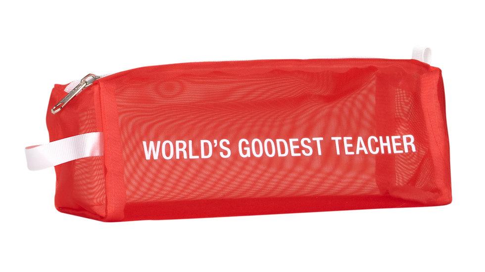 World's Goodest Teacher Mesh Bag