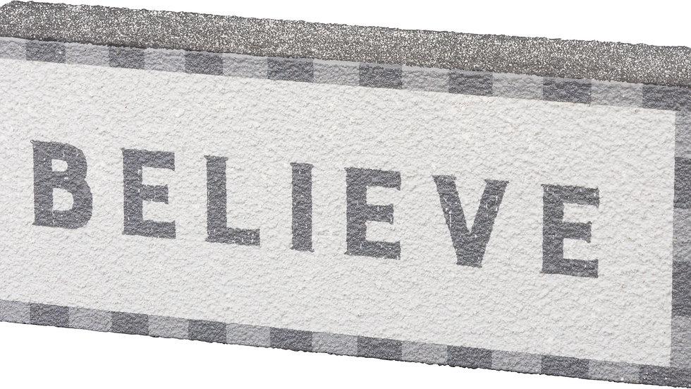 Box Sign - Believe