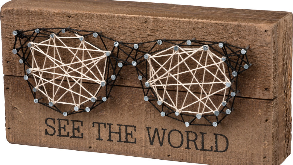 String Art - See the World