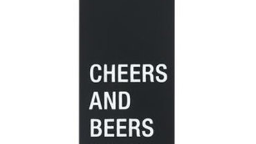 Cheers and Beers to 40 Years Metal Bottle Opener