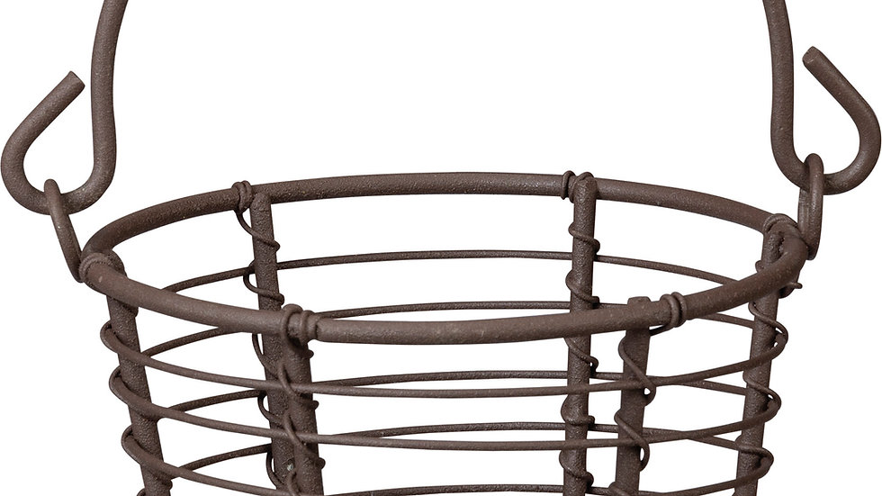 Wire Basket - Round With Handle