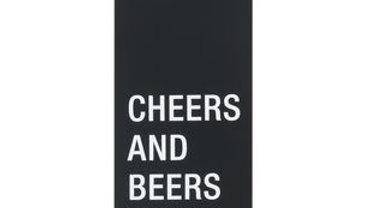 Cheers and Beers to 60 Years Metal Bottle Opener