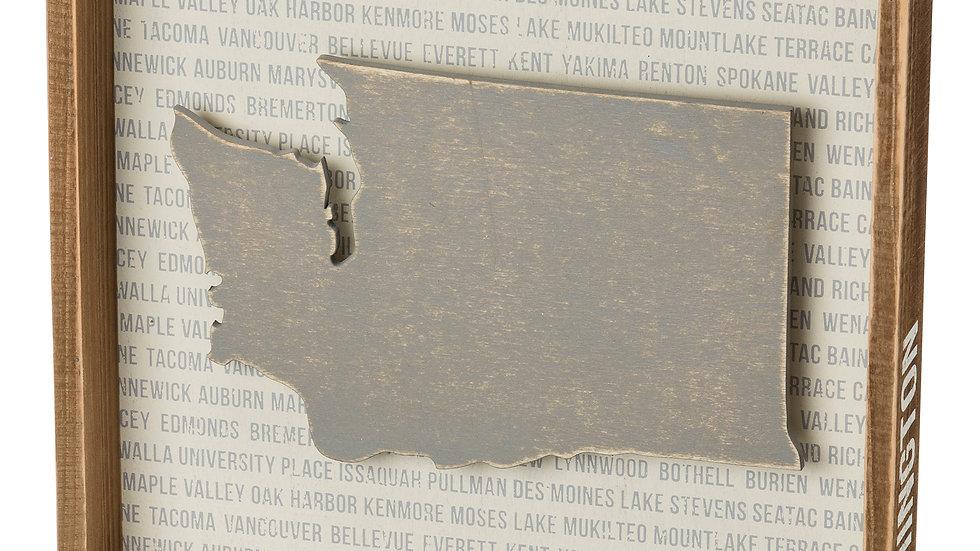 Reverse Box Sign - Washington