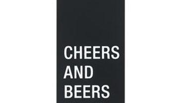 Cheers and Beers to 50 Years Metal Bottle Opener