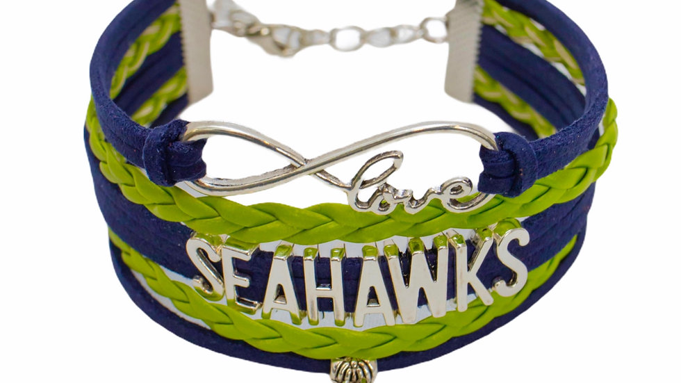 Seattle Seahawks Women's Bracelet