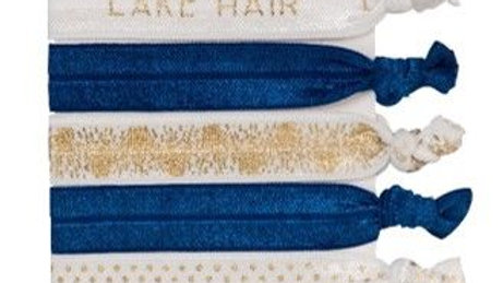 Elastic Hair Ties - Lake Hair S/5
