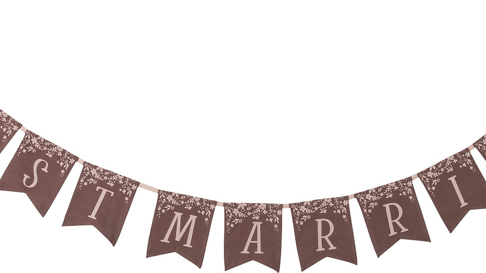 Pennant Banner - Just Married
