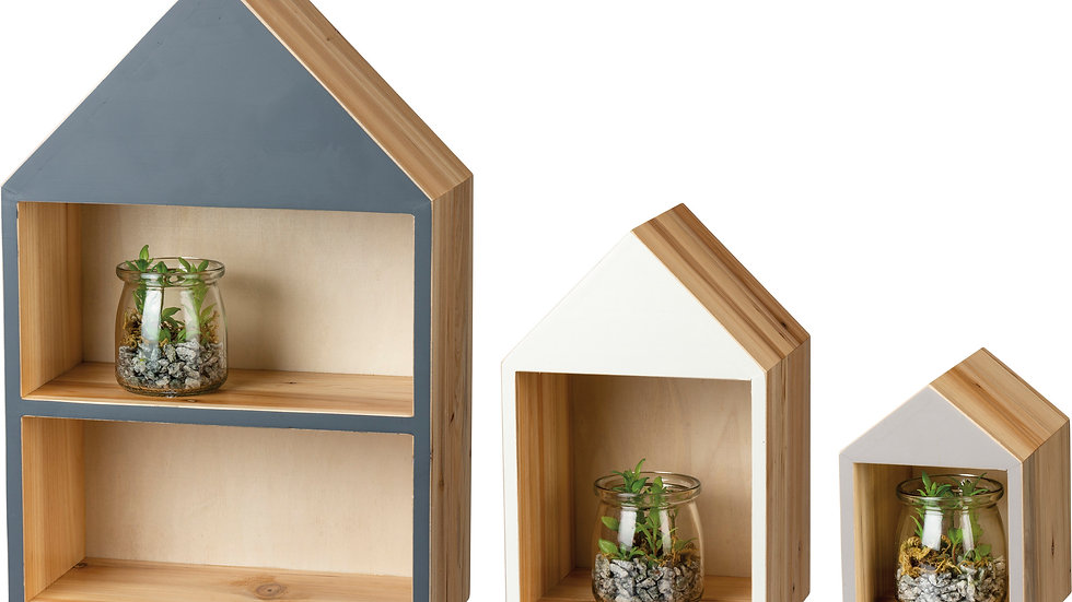 Shelf Unit Set - Houses