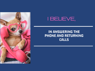 Pick up the dang phone!