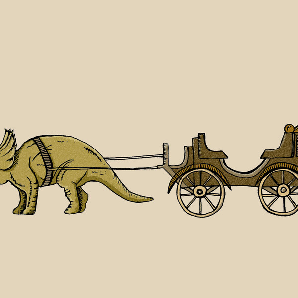 Triceratops Carriage