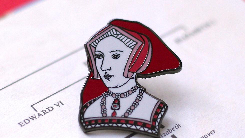 Jane Seymour Enamel Pin The Tudors