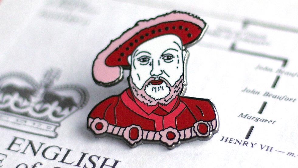 Henry VIII Enamel Pin