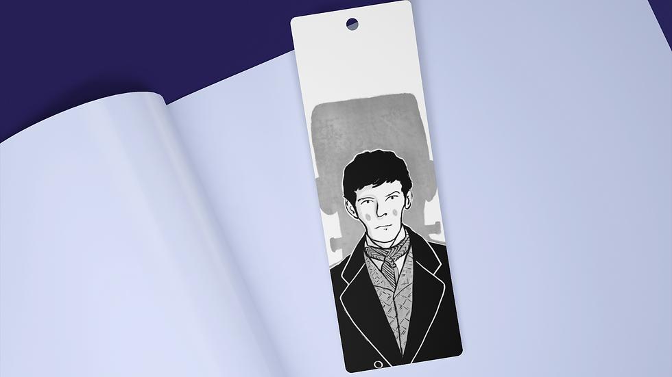 Frankenstein Black Ink Bookmark