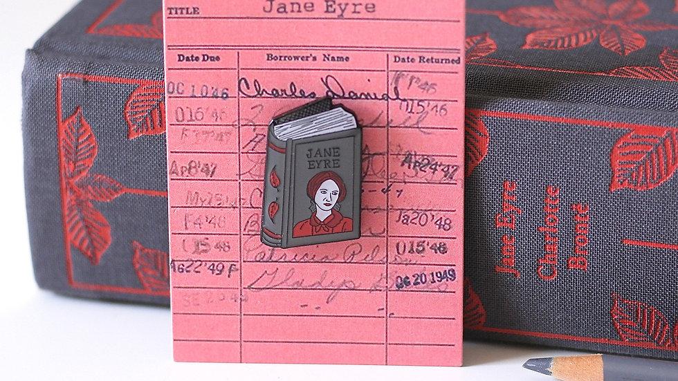 Charlotte Bronte Jane Eyre Enamel Pin