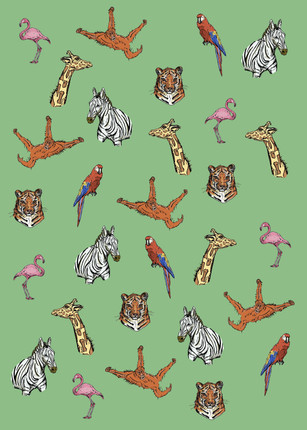 Safari Wrapping Paper
