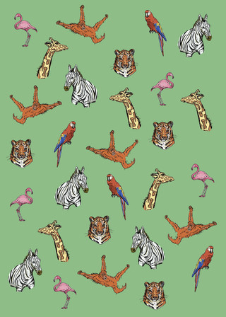 Safari Wrapping Paper