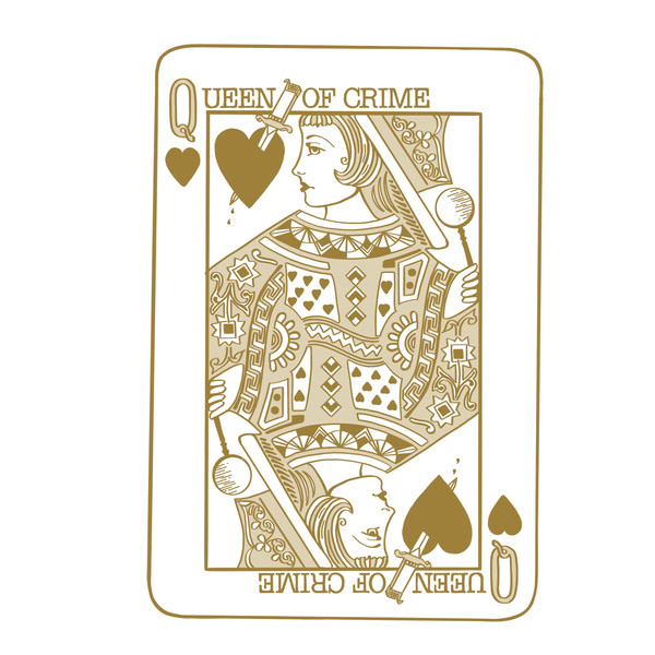 Queen of Crime Playing Card