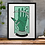 Thumbnail: By The Pricking Of My Thumbs Shakespeare Print Green