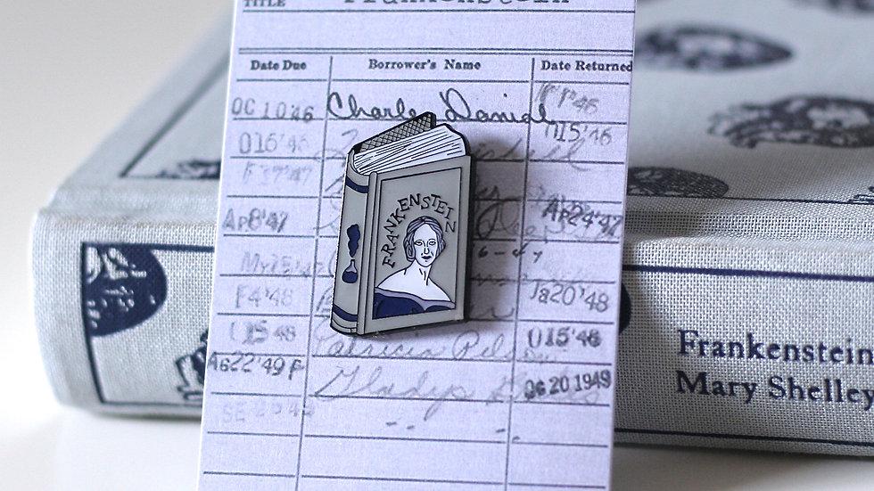 Mary Shelley Frankenstein Enamel Pin