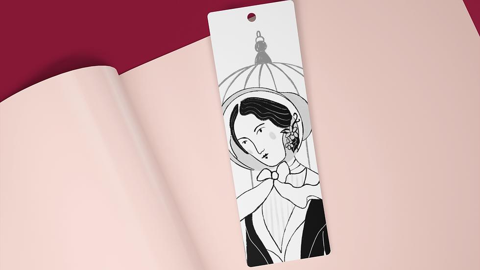 Jane Eyre Black Ink Bookmark