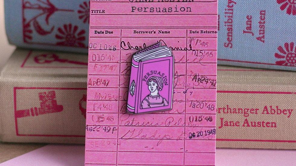 Jane Austen Persuasion Enamel Pin