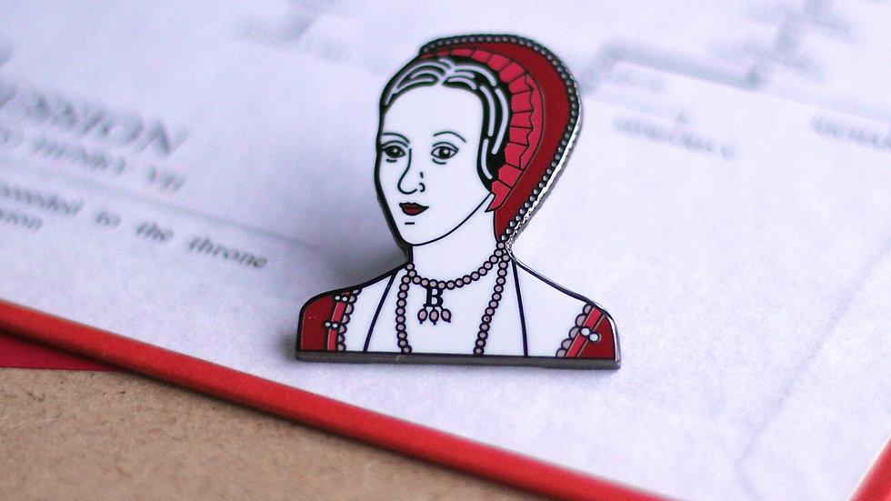 Anne Boleyn Enamel Pin