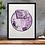 Thumbnail: Half Agony Half Hope Jane Austen Print Purple