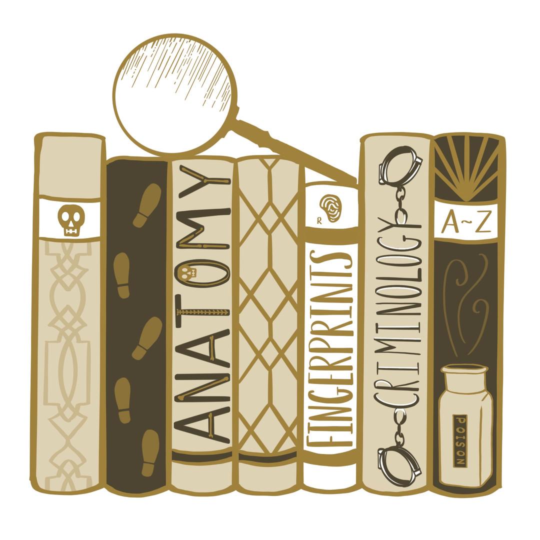 Detective Bookshelf