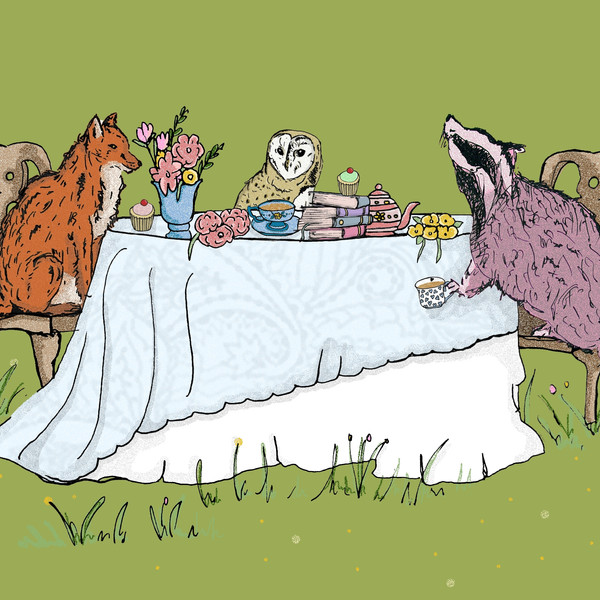 Animal Tea Party