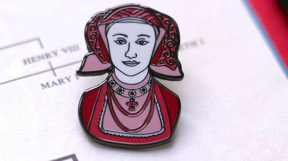 Anne of Cleves Enamel Pin The Tudors