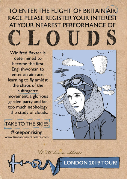 Clouds Flyer Inside Cover 2 for London T